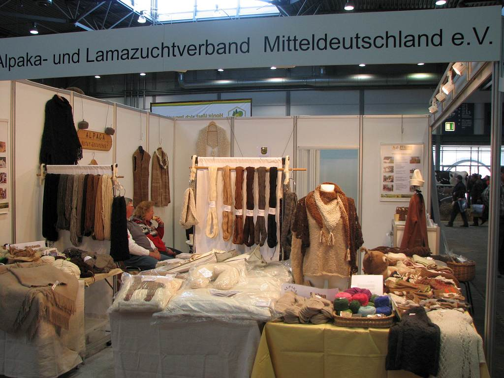 Der Messestand